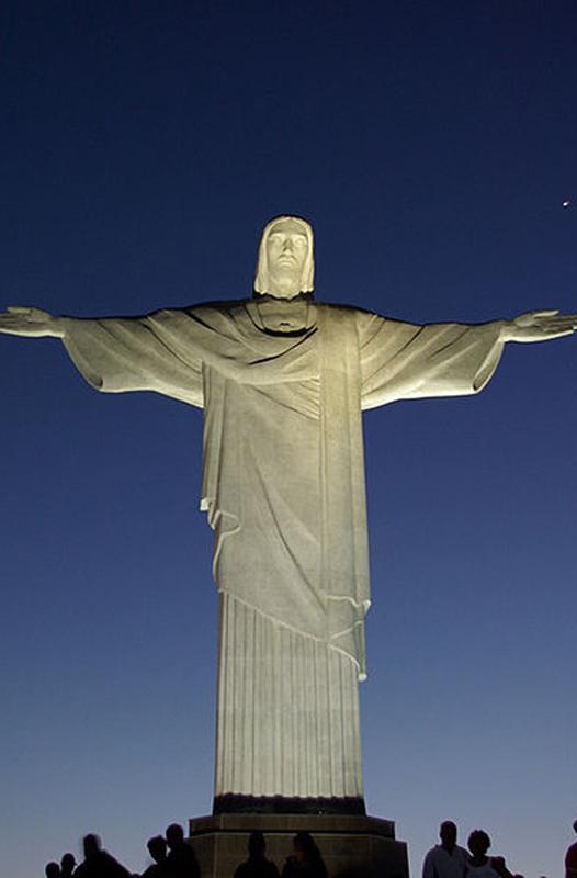 Socha Ježíše Krista v Riu