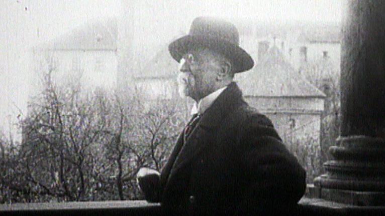 První československý prezident Masaryk