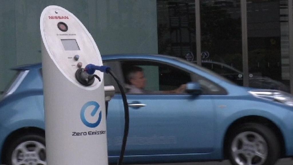 Elektromobil od Nissanu