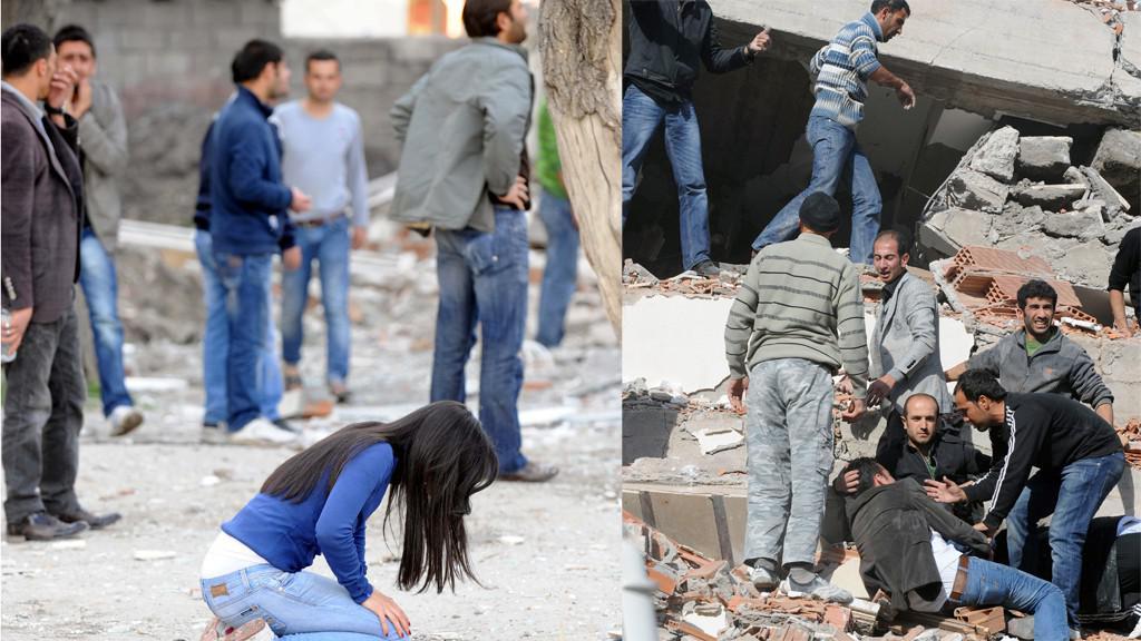 Turecko - zemětřesení