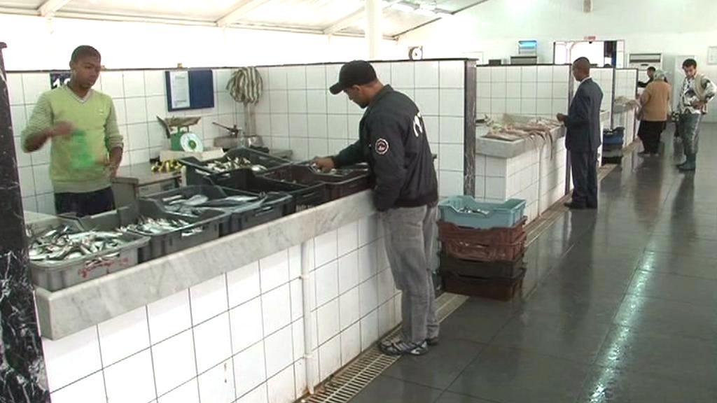 Rybí trh v Tripolisu