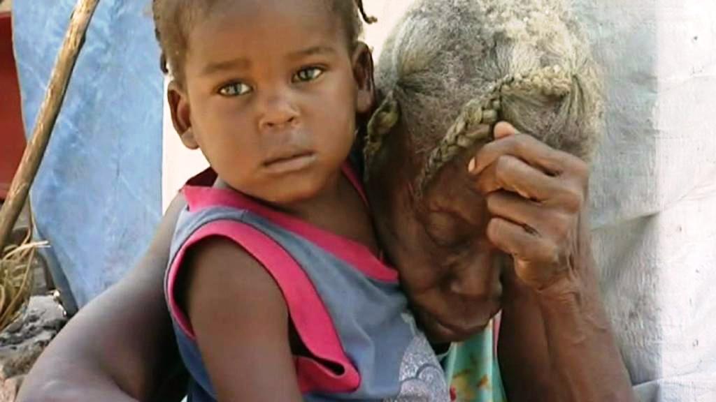 Lidé na Haiti