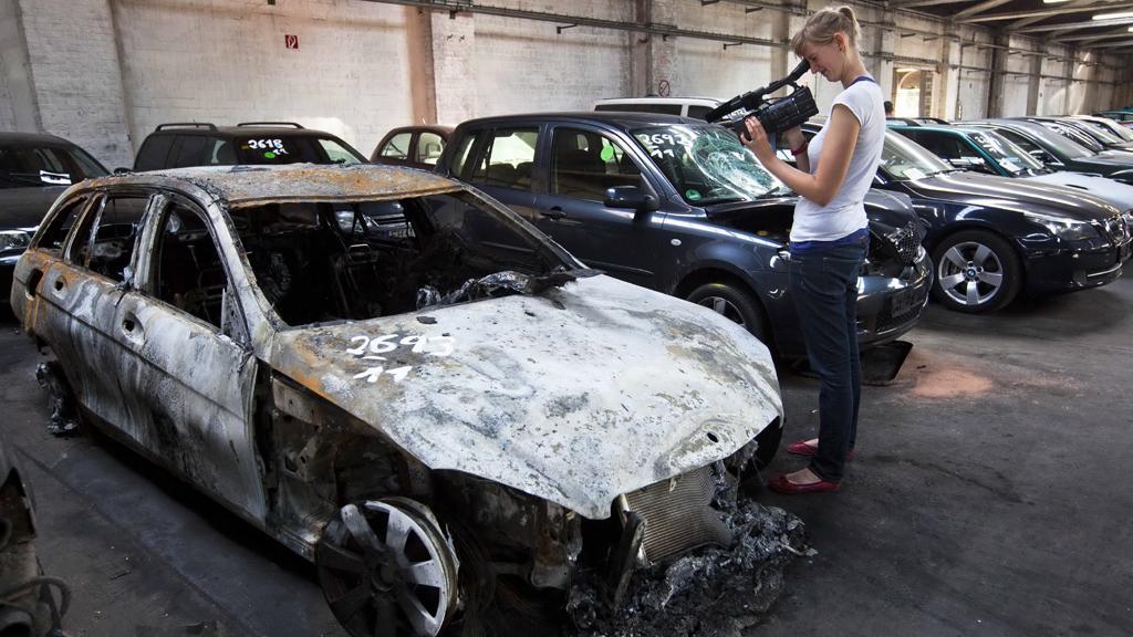 V Berlíně znovu hořela auta