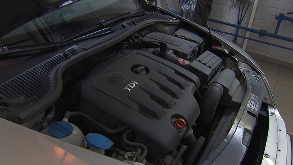 Kontrola motoru auta