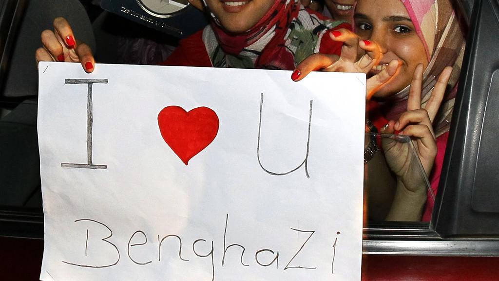 Libye oslavuje osvobození