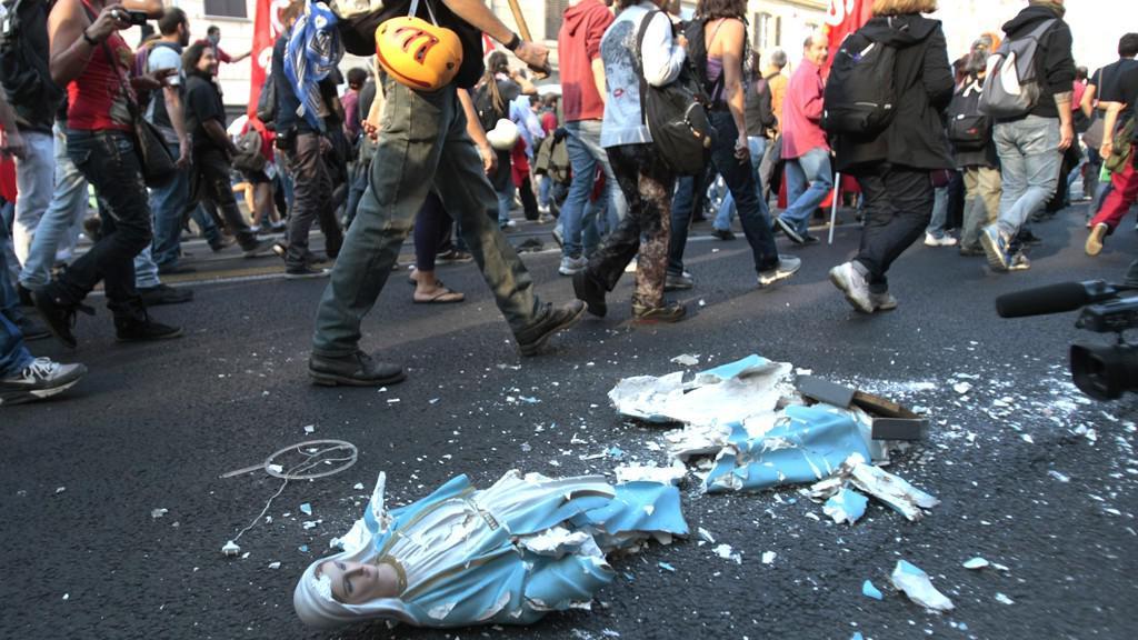 Římský protest proti sociální nerovnosti