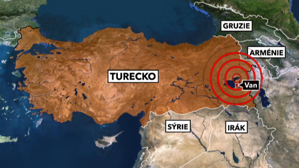 Zemětřesení v Turecku
