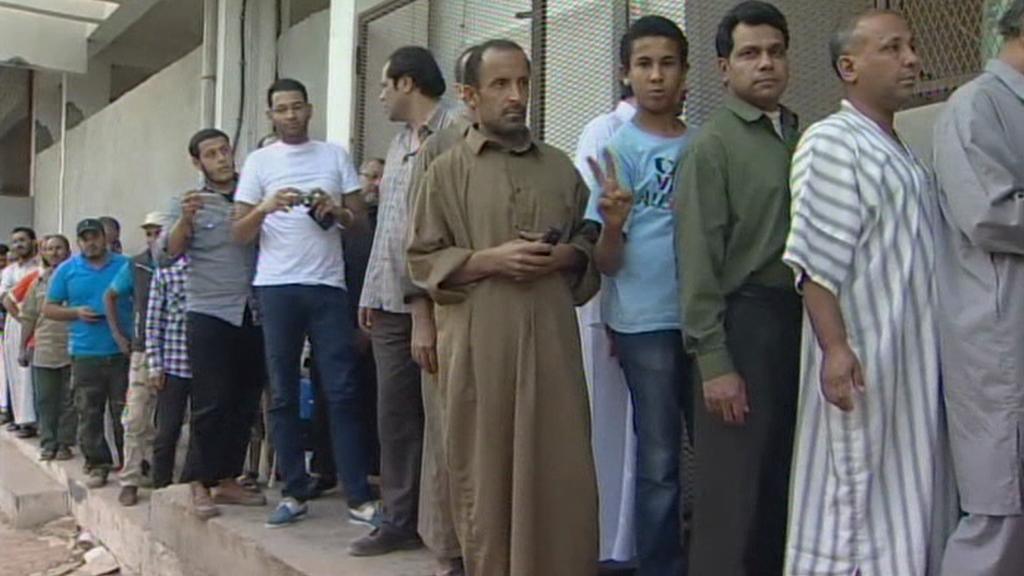 Fronta na tělo Kaddáfího