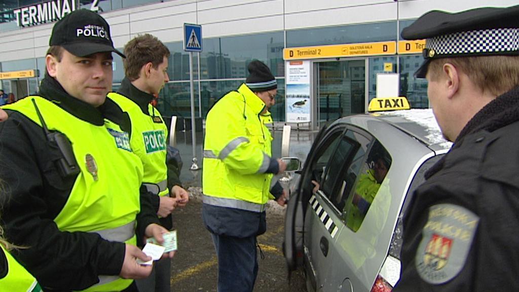 Kontrola taxikářů