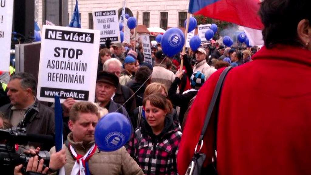 Protest proti vládě
