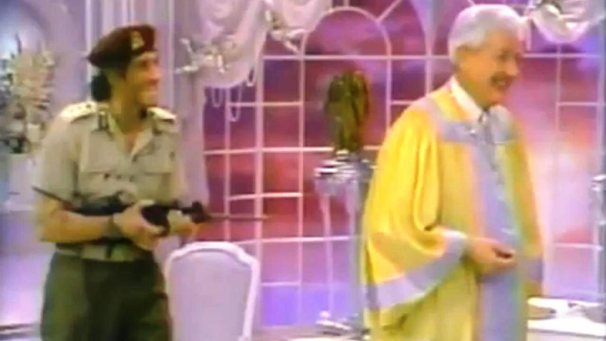 Kaddáfí v sitcomu