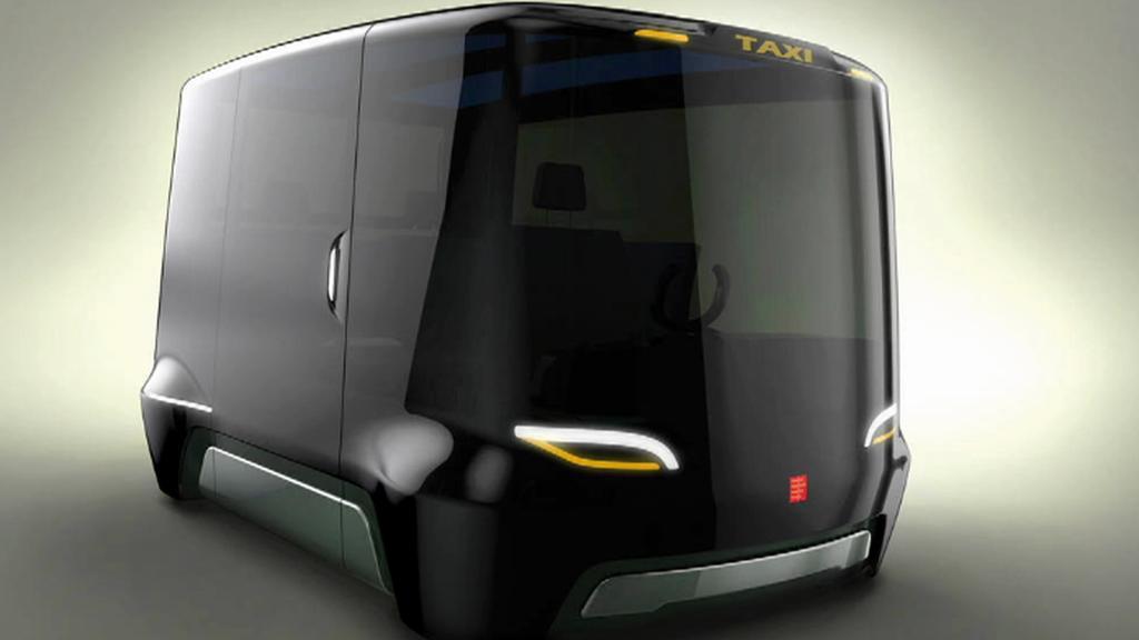 Studie taxíku budoucnosti