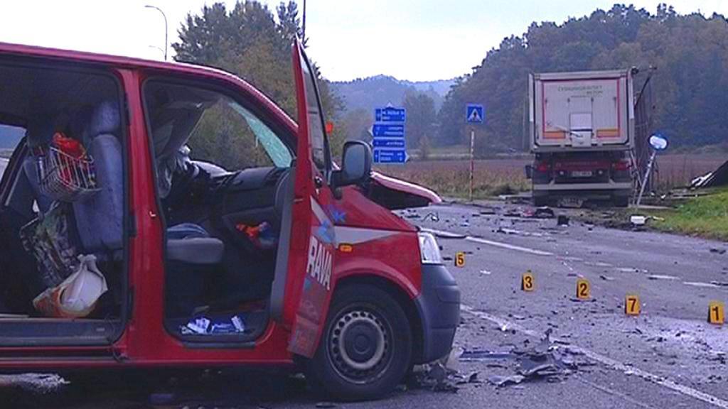 Nehoda v Jestřebí