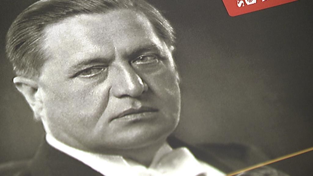 Václav Talich na přebalu alba