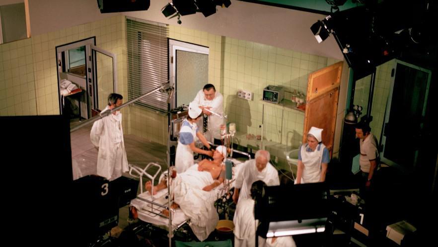 Natáčení Nemocnice na kraji města