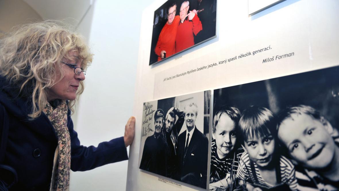 Výstava Jiří Suchý