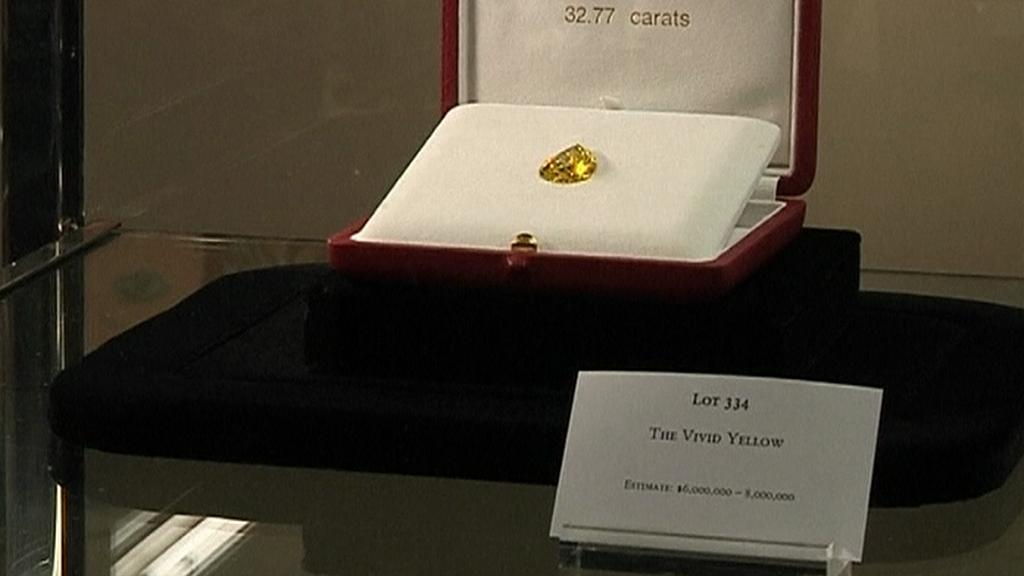 Žlutý diamant