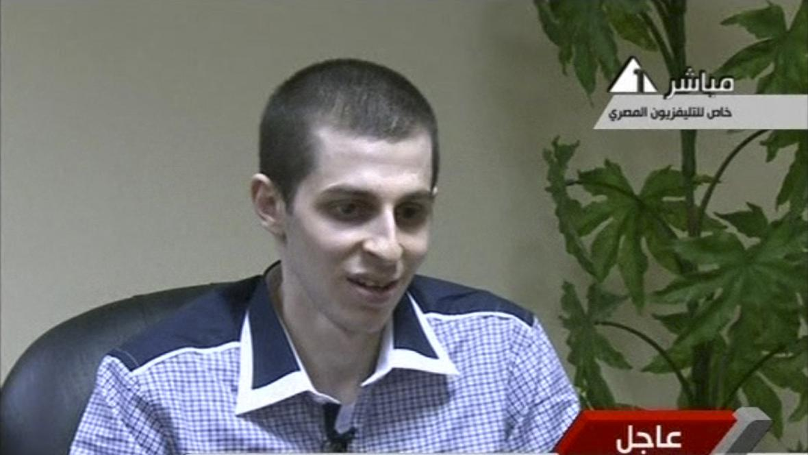 Propuštěný Gilad Šalit