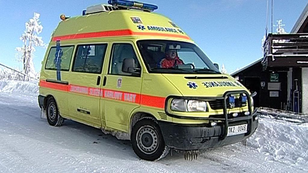 Karlovarská záchranná služba by potřebovala nové sanitky