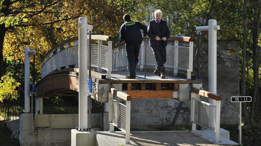Zvedací most v Chrastavě