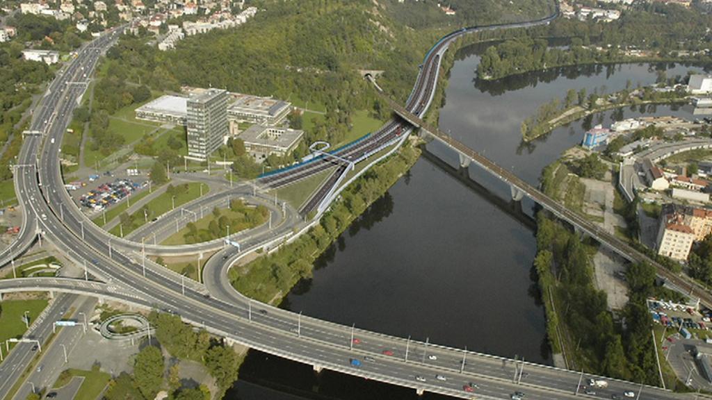 Vizualizace pražského okruhu