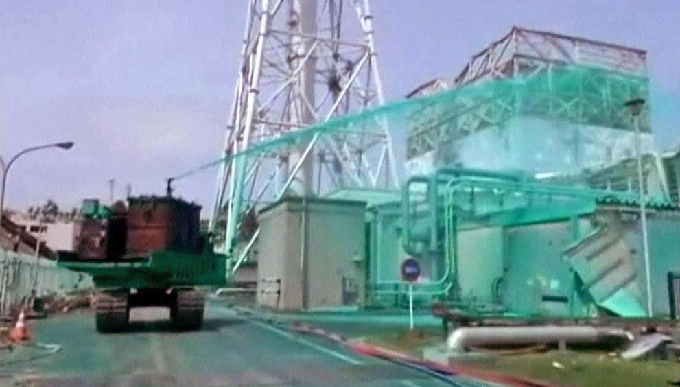 Záchranné práce v jaderné elektrárně Fukušima
