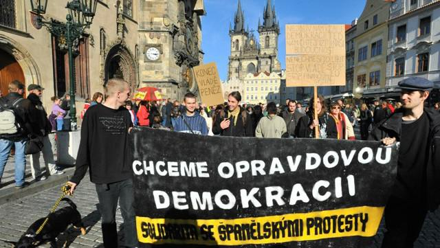Protest proti sociální nerovnosti (ČR)