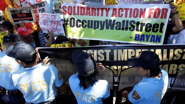 Protest proti sociální nerovnosti (Filipíny)