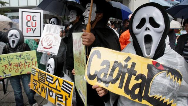 Protest proti sociální nerovnosti (Jižní Korea)