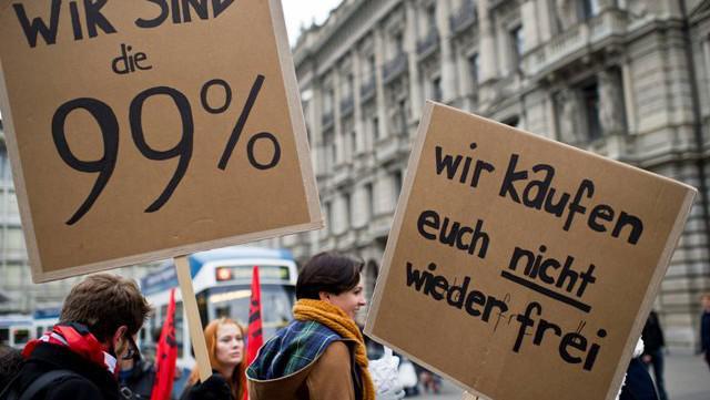 Protest proti sociální nerovnosti (Švýcarsko)
