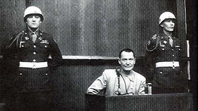 Hermann Göring u Norimberského procesu