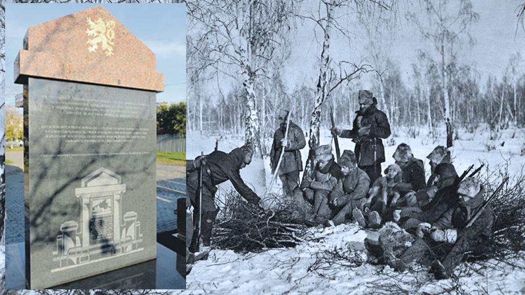 Pomník československým legionářům v Čeljabinsku
