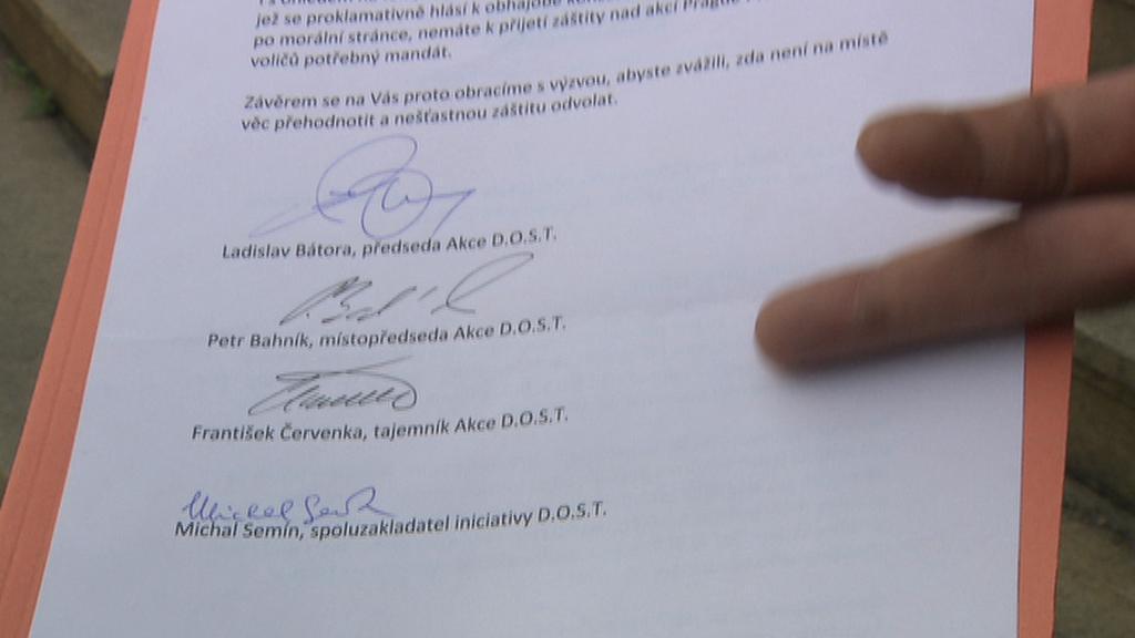 Otevřený dopis iniciativy D.O.S.T.