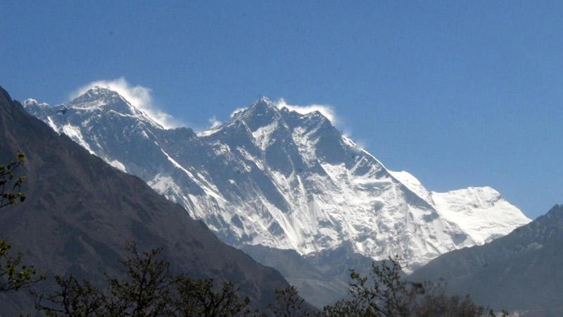 Mt. Everest a Lhotse