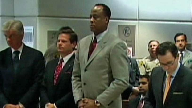 Conrad Murray u soudu