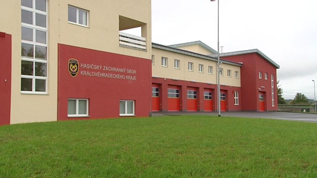 Nová hasičská stanice v Rychnově nad Kněžnou