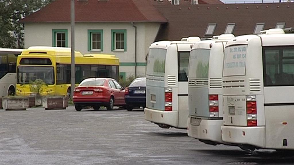 Autobusové nádraží v Ústí nad Labem