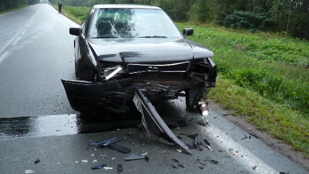 Nehoda v Lázních Bohdaneč
