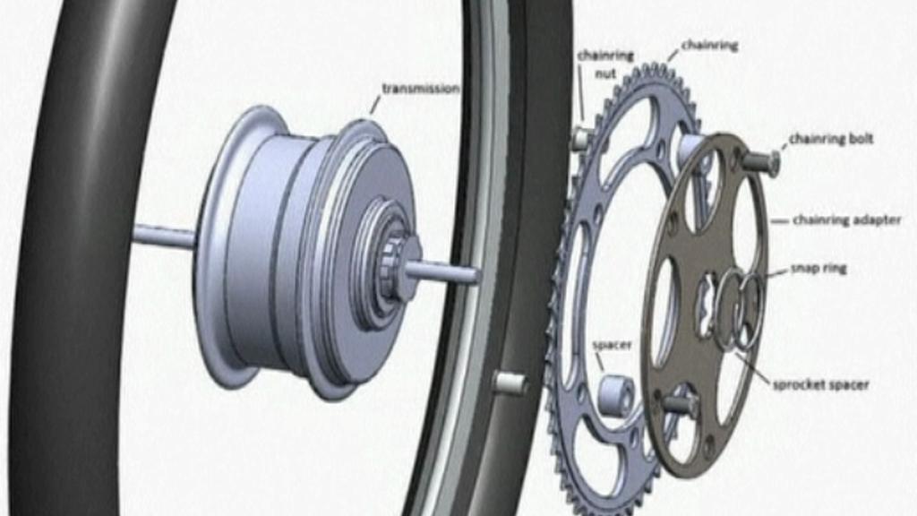 Cyklistický setrvačník