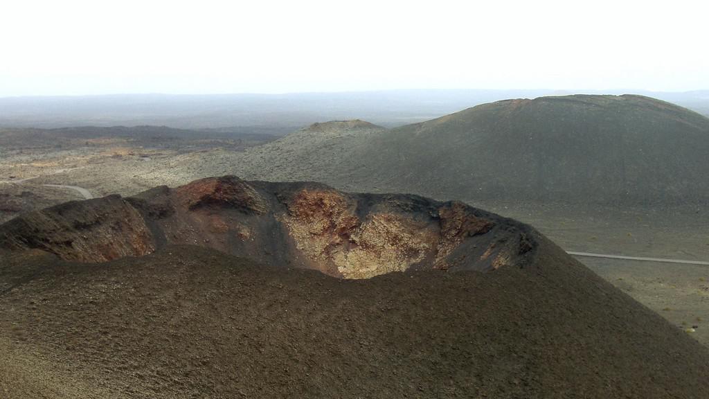 Krátery na Lanzarote