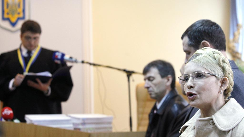 Julija Tymošenková u soudu