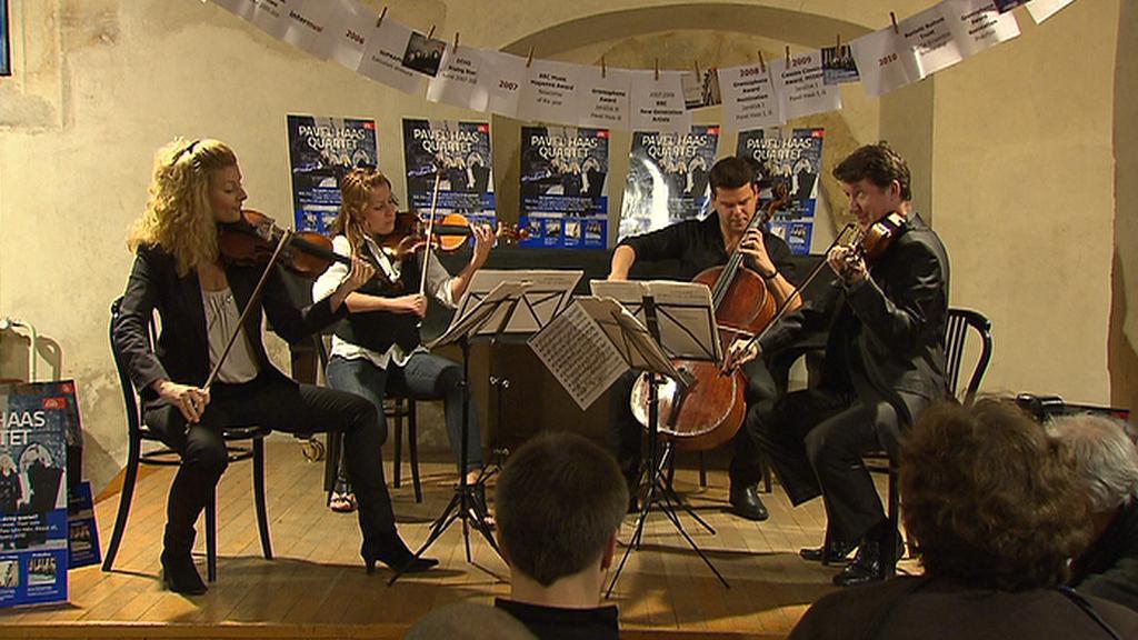 Pavel Haas Quartet (křest CD - 2010)