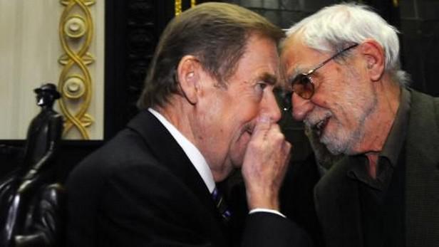Václav Havel a Jiří Stránský