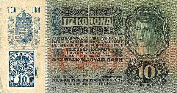 Rakousko-uherská desetikoruna