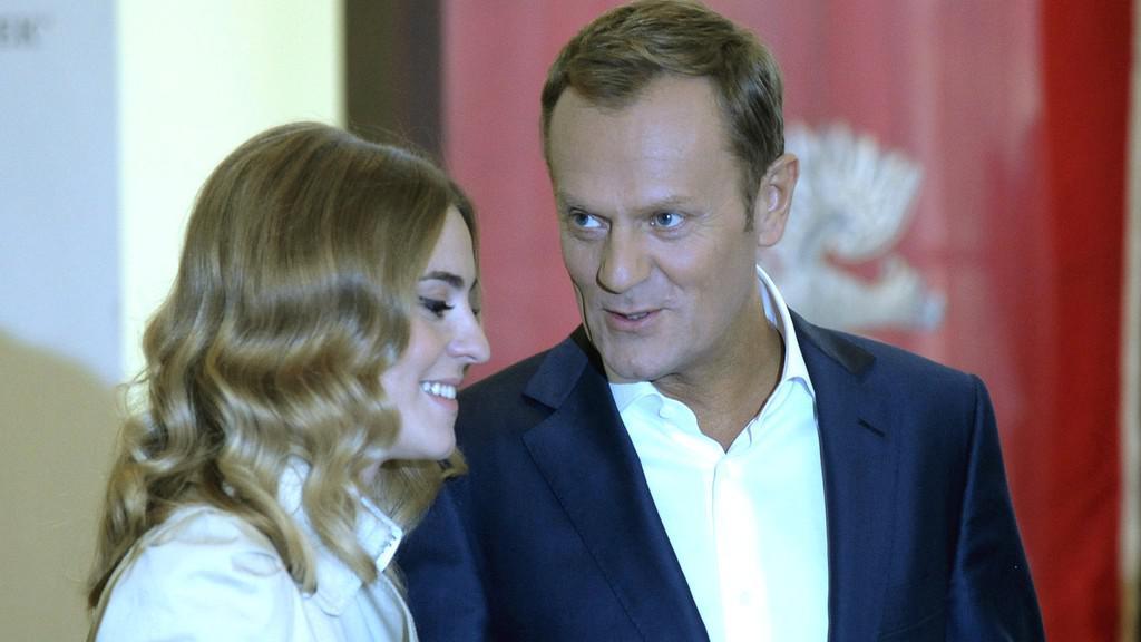 Donald Tusk s manželkou