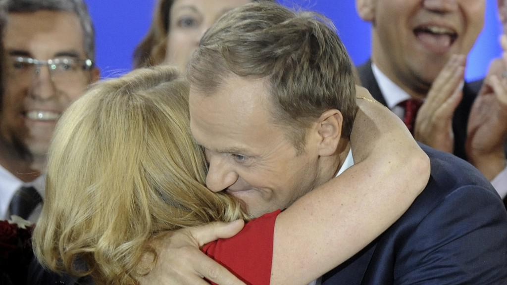 Donald Tusk, Malgorzata Tusková