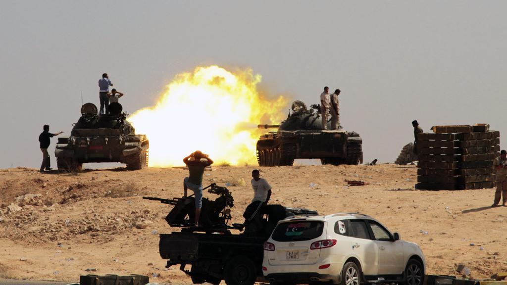 Boje na předměstí Syrty
