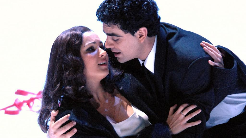 Rolando Villazón a Anna Netrebko