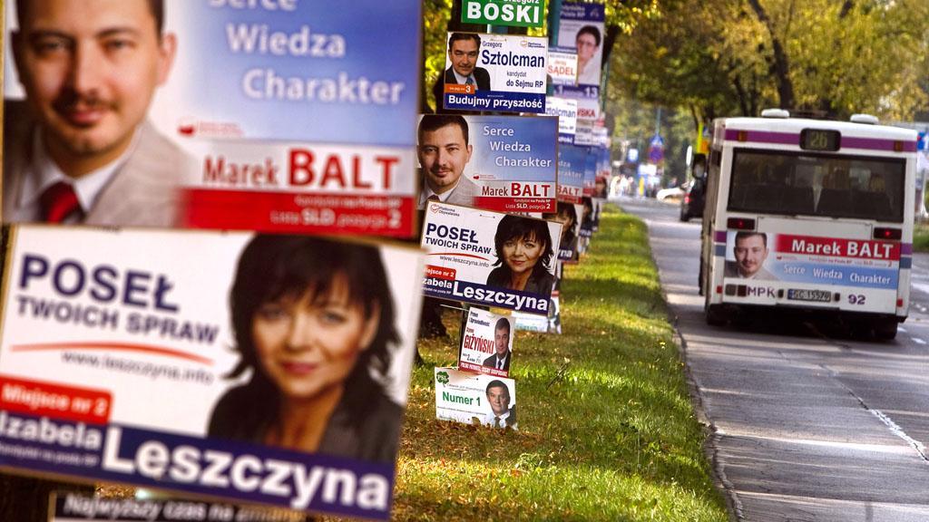 Polská předvolební kampaň