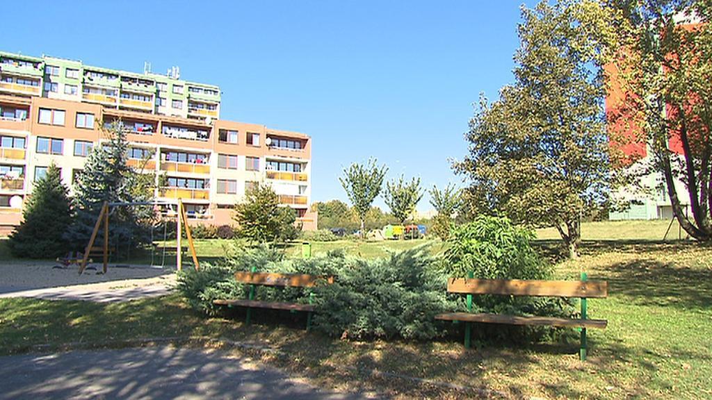 Park na proseckém sídlišti